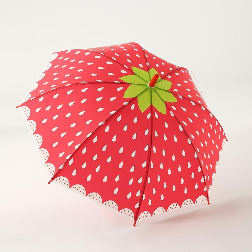 3coins-フルーツ傘-いちご