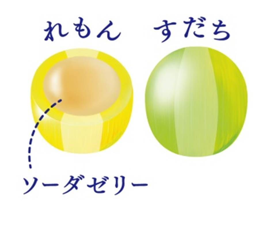 カンロ-瀬戸内柑橘ぷるんゼリー-中身