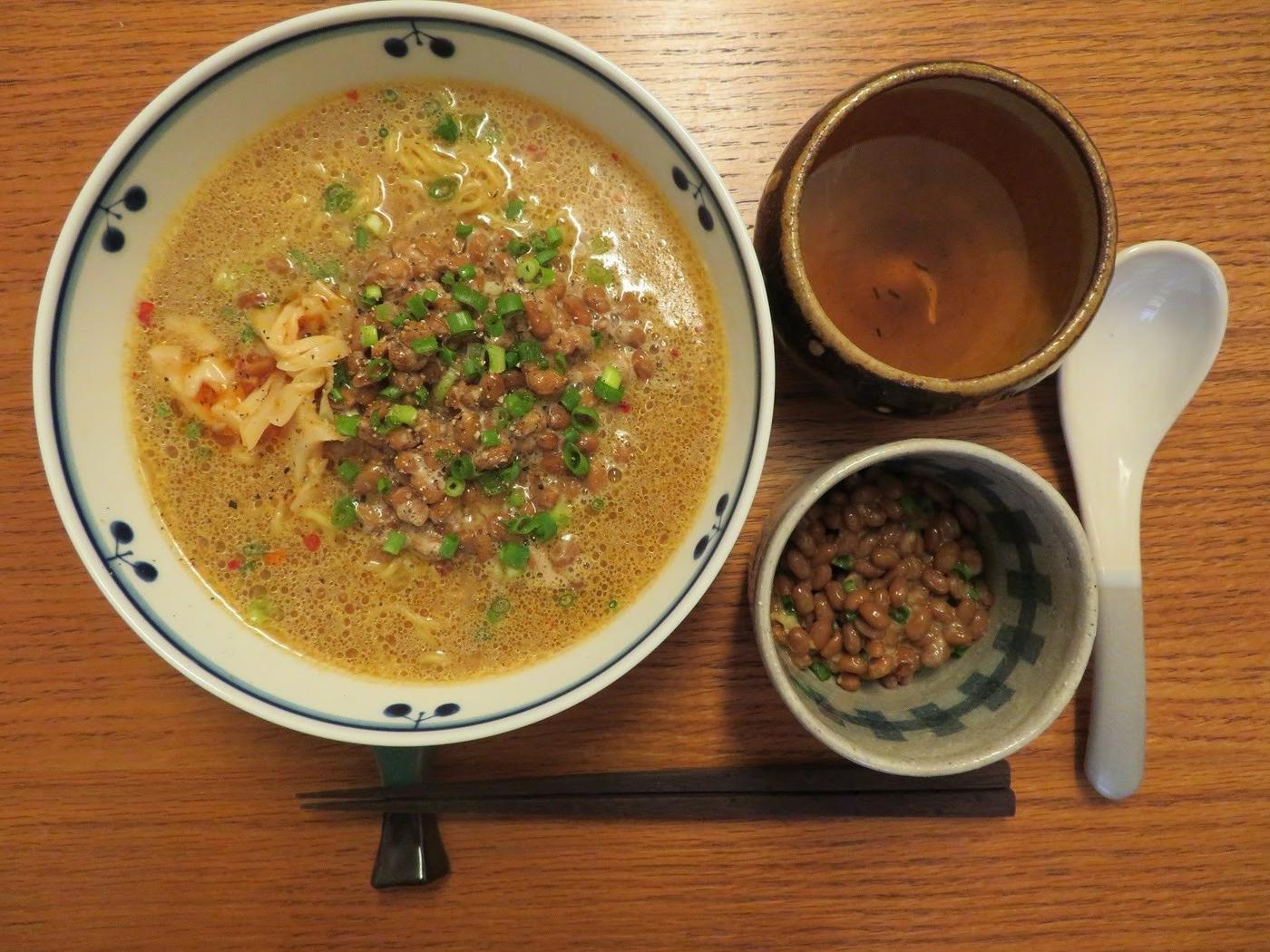茨城県-ご当地グルメ-納豆ラーメン