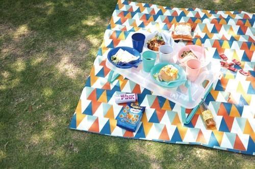 ガーデンパーティーレジャー テーブル&食器セット