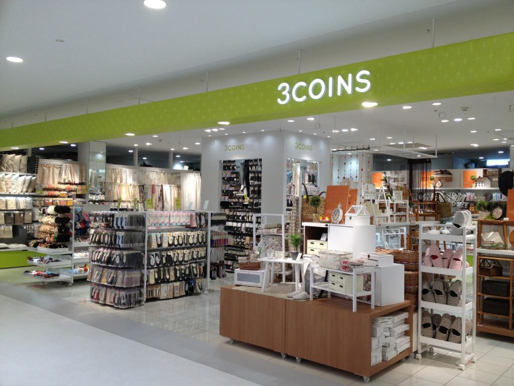 3coins-店舗外観